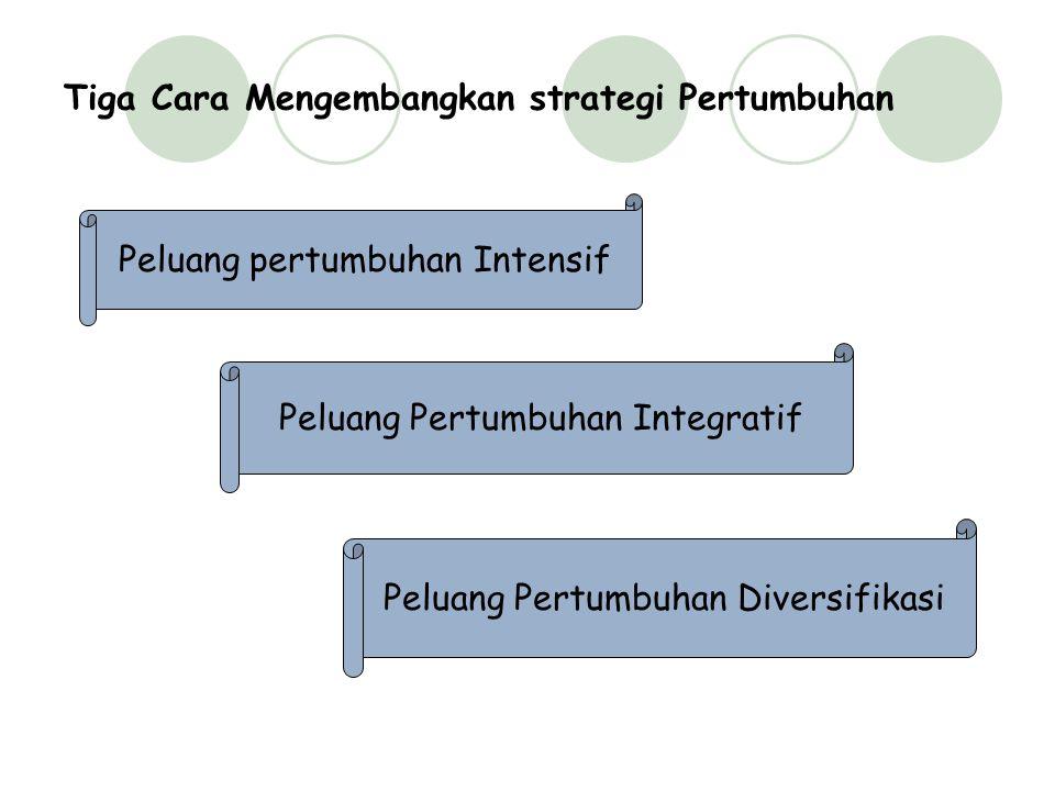 Tiga Cara Mengembangkan strategi Pertumbuhan