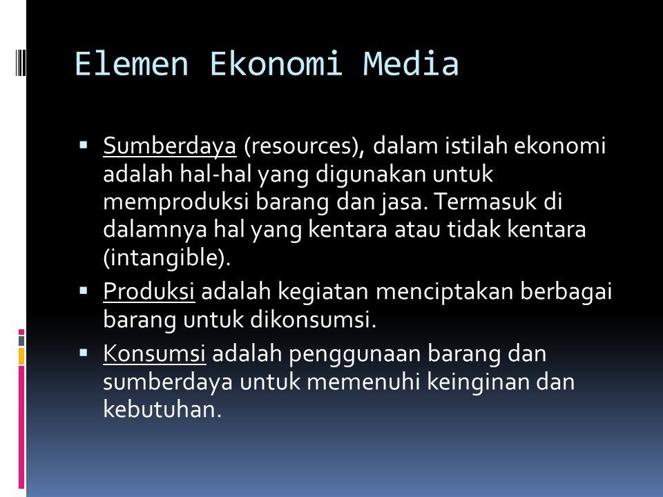 Elemen Ekonomi Media