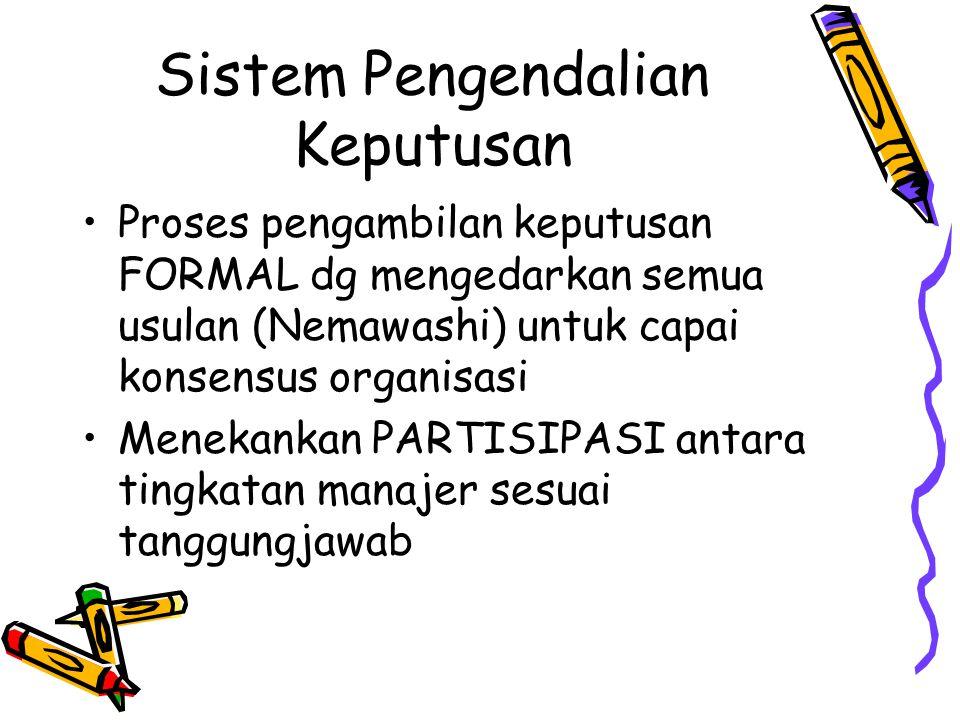 Sistem Pengendalian Keputusan