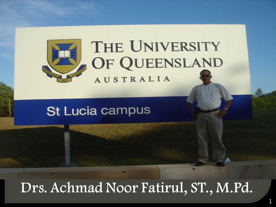 Drs. Achmad Noor Fatirul, ST., M.Pd.