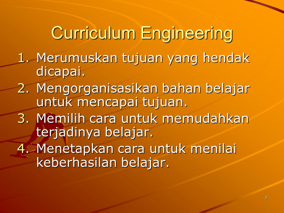 Curriculum Engineering