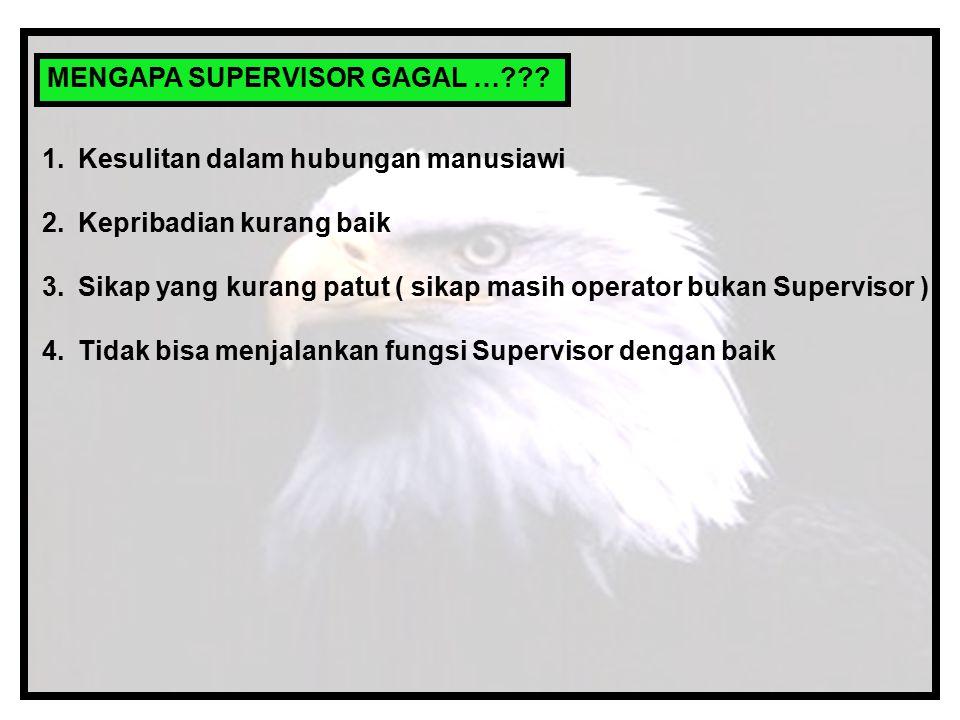 MENGAPA SUPERVISOR GAGAL …