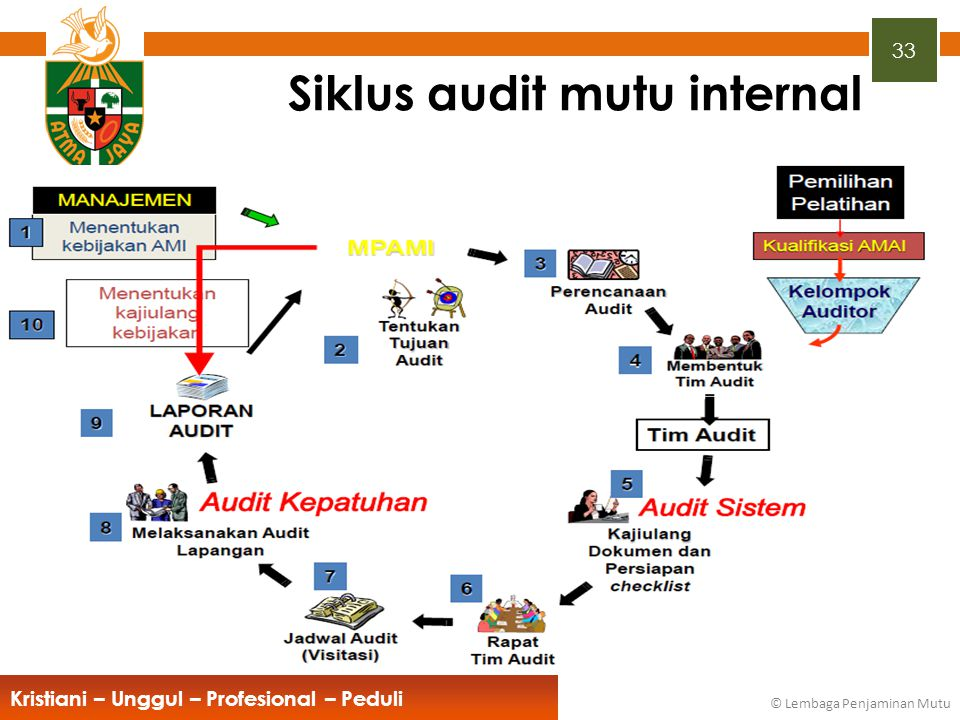Siklus audit mutu internal