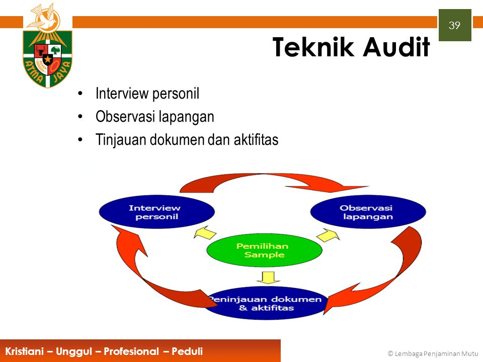 Teknik Audit Interview personil Observasi lapangan