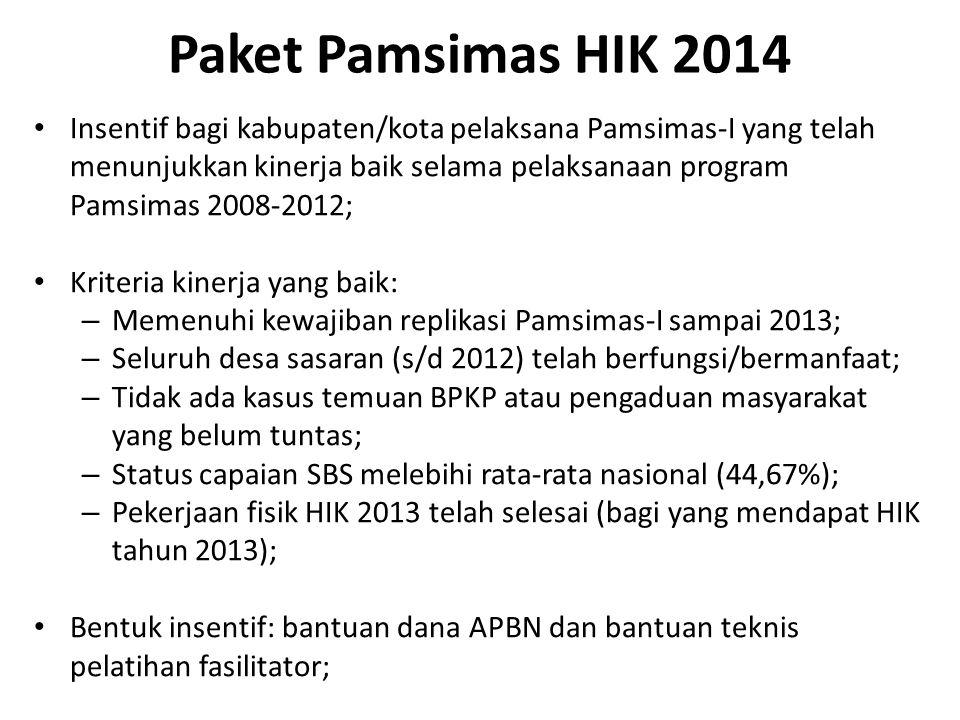 Paket Pamsimas HIK 2014