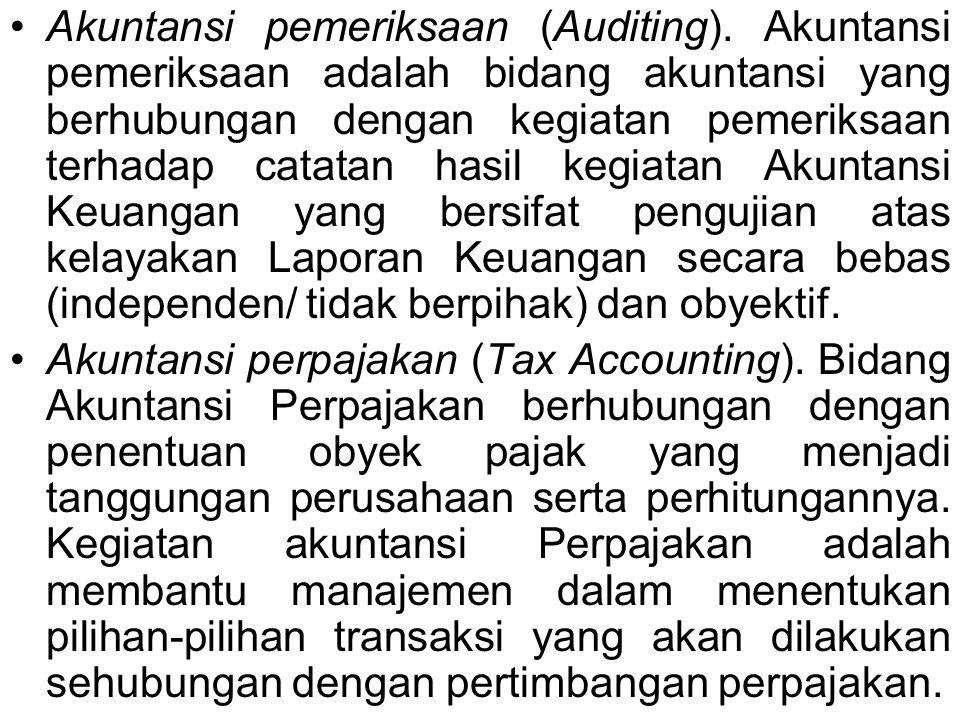 Akuntansi pemeriksaan (Auditing)