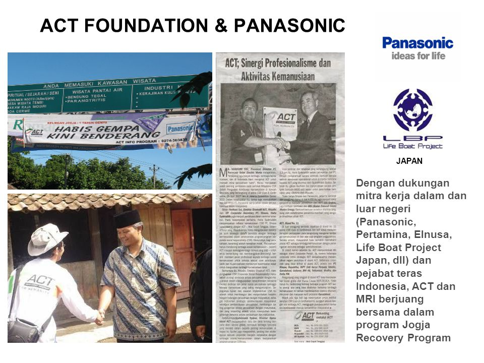 ACT FOUNDATION & PANASONIC
