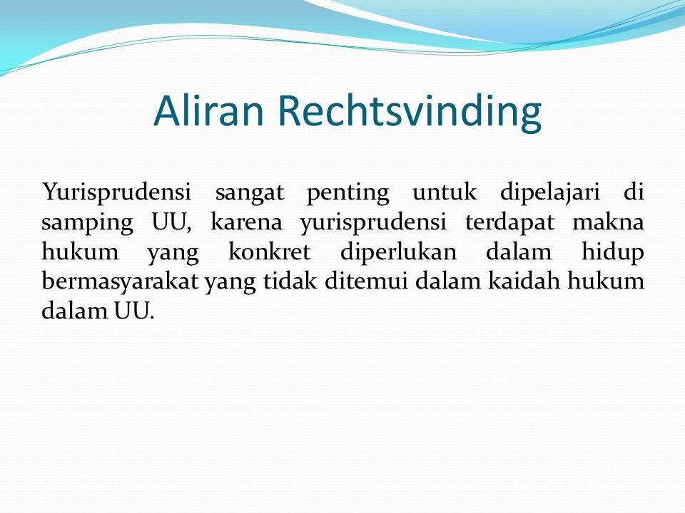 Aliran Rechtsvinding