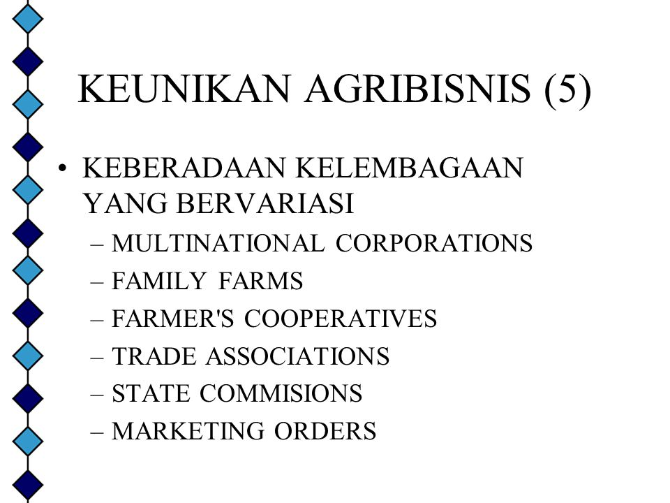 KEUNIKAN AGRIBISNIS (5)