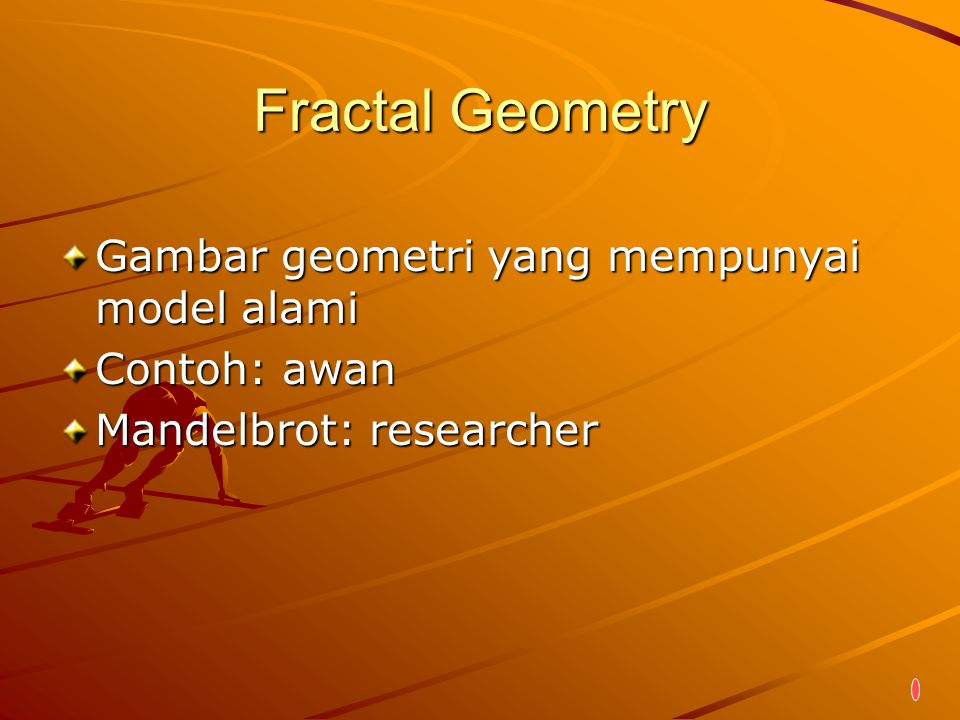 Fractal Geometry Gambar geometri yang mempunyai model alami