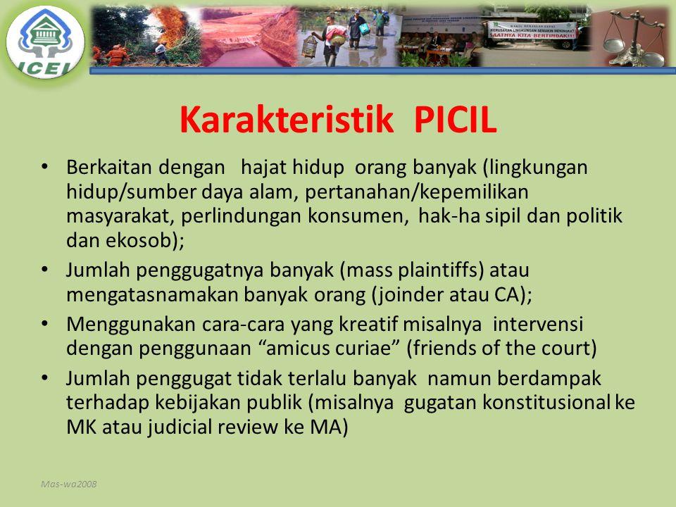 Karakteristik PICIL