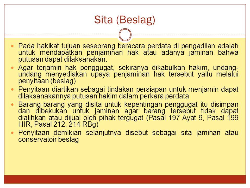 Sita (Beslag)