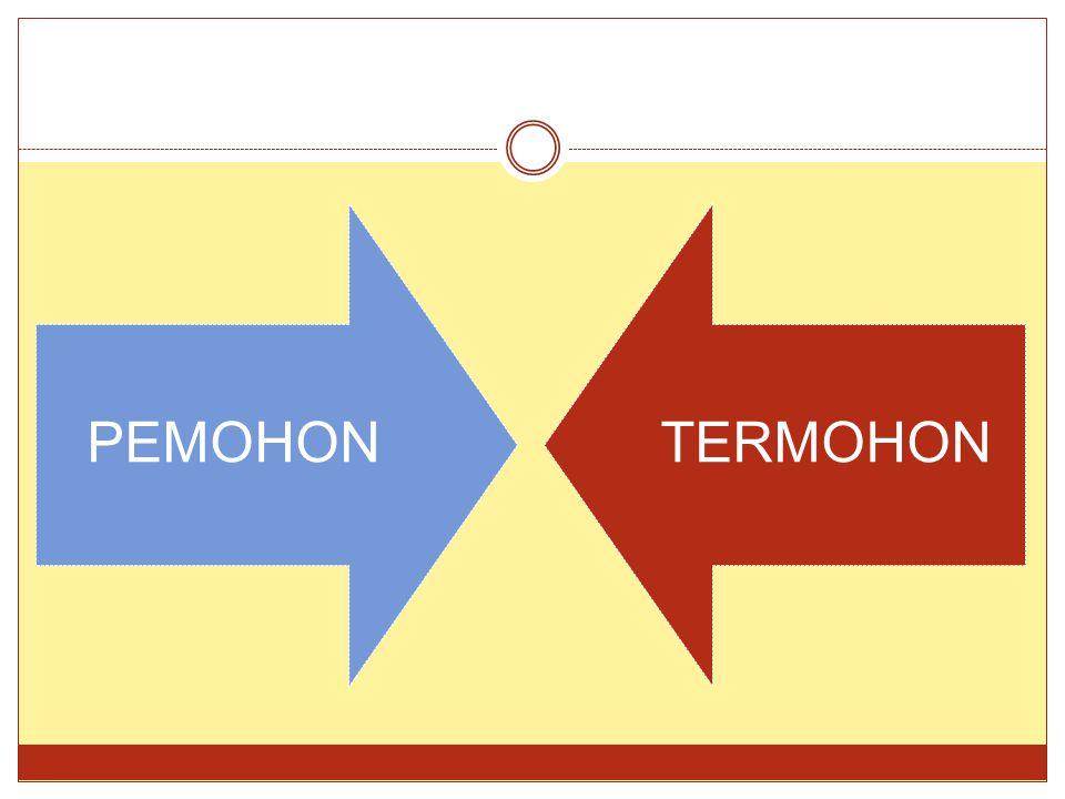 PEMOHON TERMOHON
