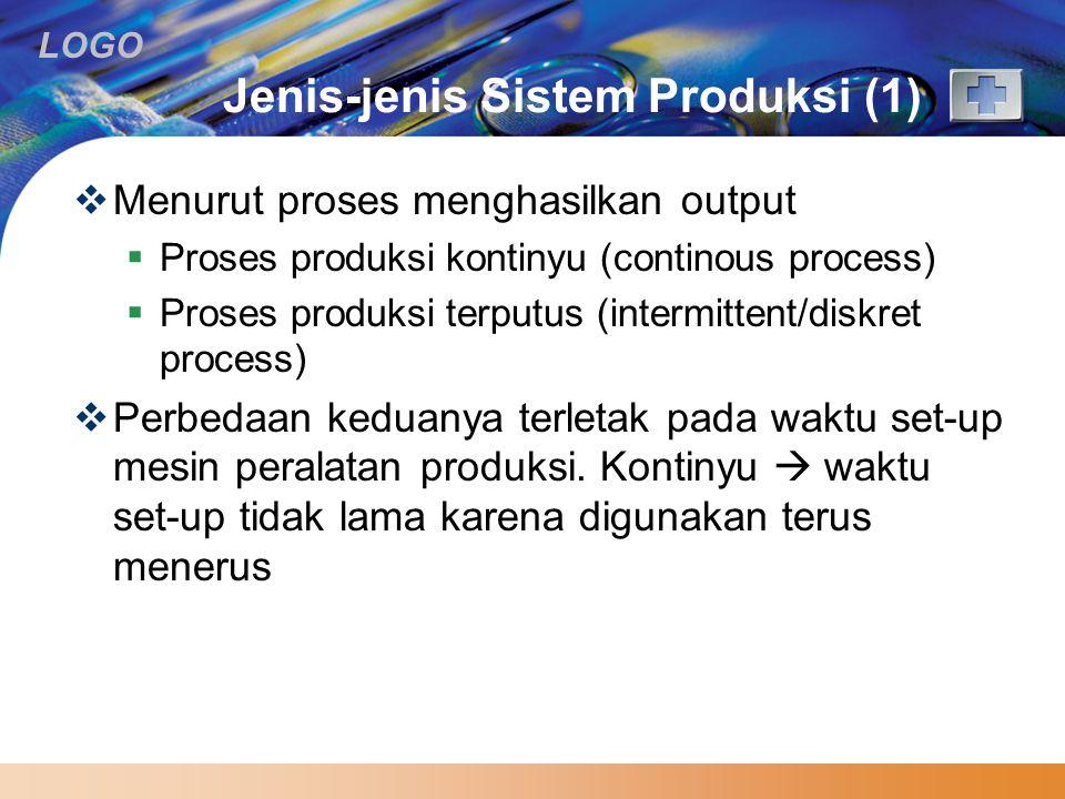Jenis-jenis Sistem Produksi (1)