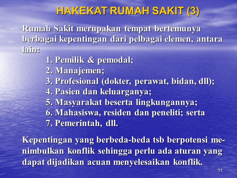 HAKEKAT RUMAH SAKIT (3)
