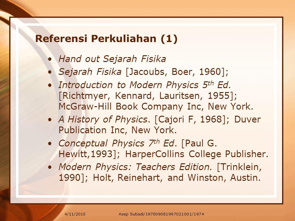 Referensi Perkuliahan (1)