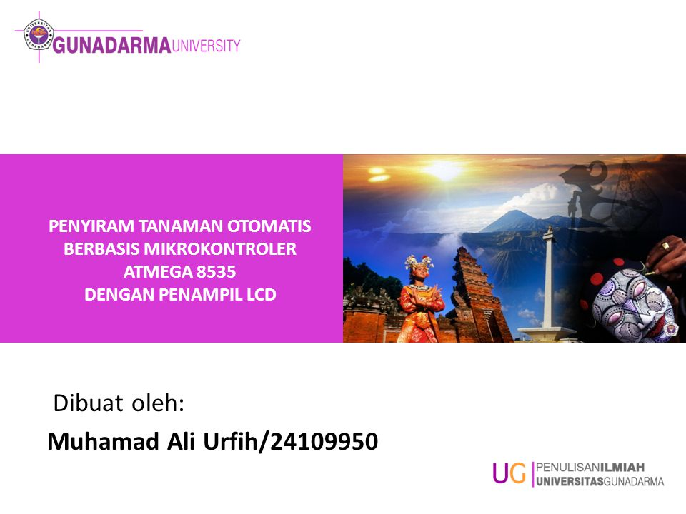 Dibuat oleh: Muhamad Ali Urfih/24109950