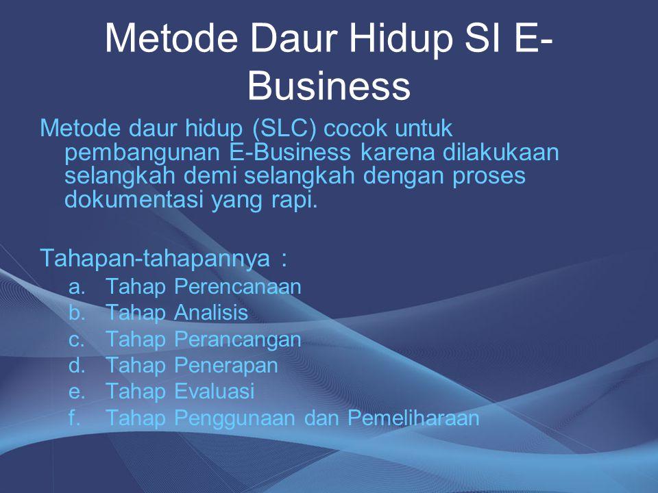 Metode Daur Hidup SI E-Business