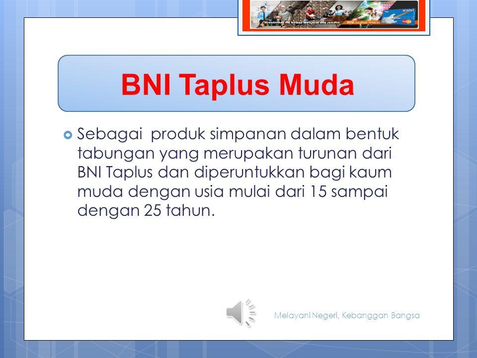 BNI Taplus Muda