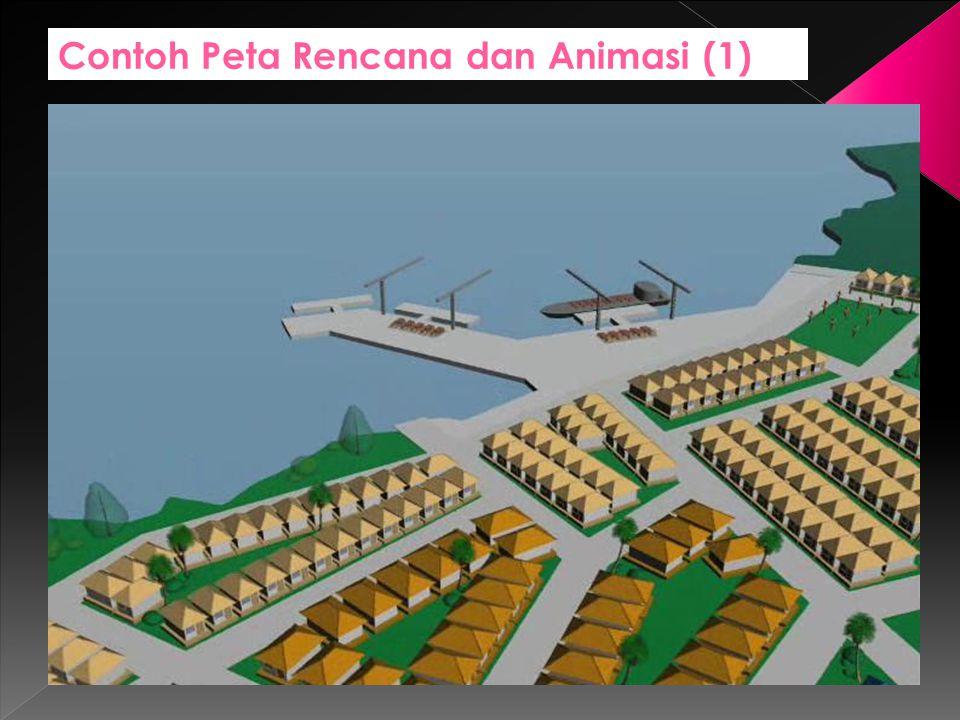 Contoh Peta Rencana dan Animasi (1)