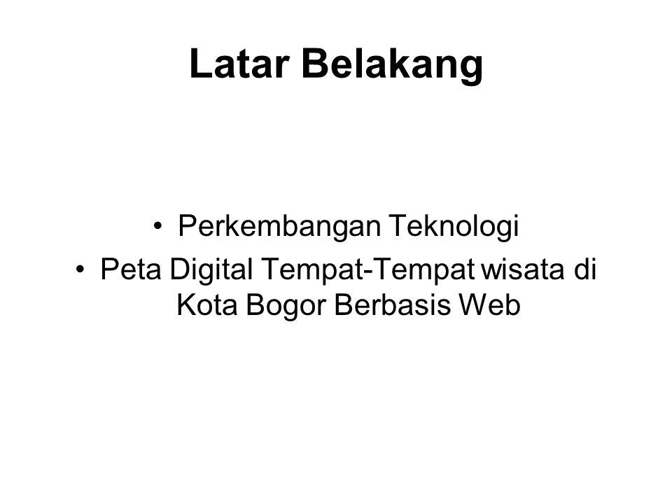 Latar Belakang Perkembangan Teknologi