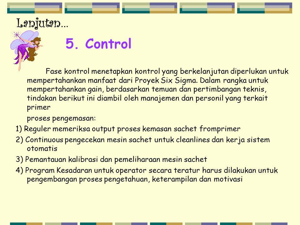 Lanjutan… 5. Control.