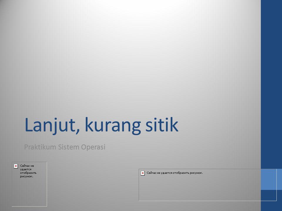 Praktikum Sistem Operasi