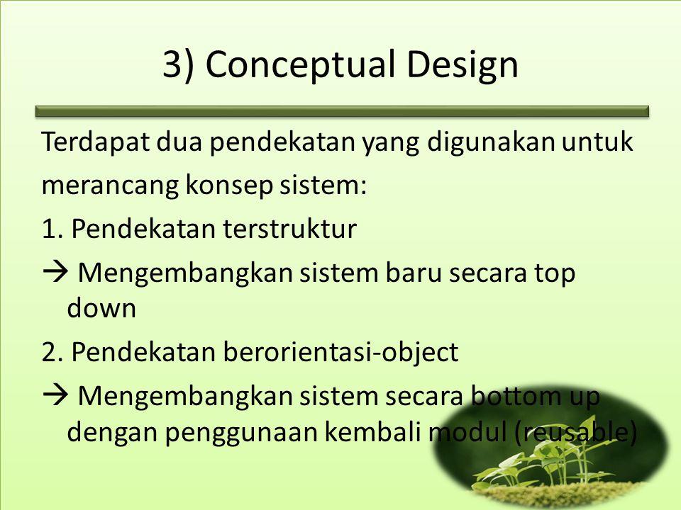 3) Conceptual Design