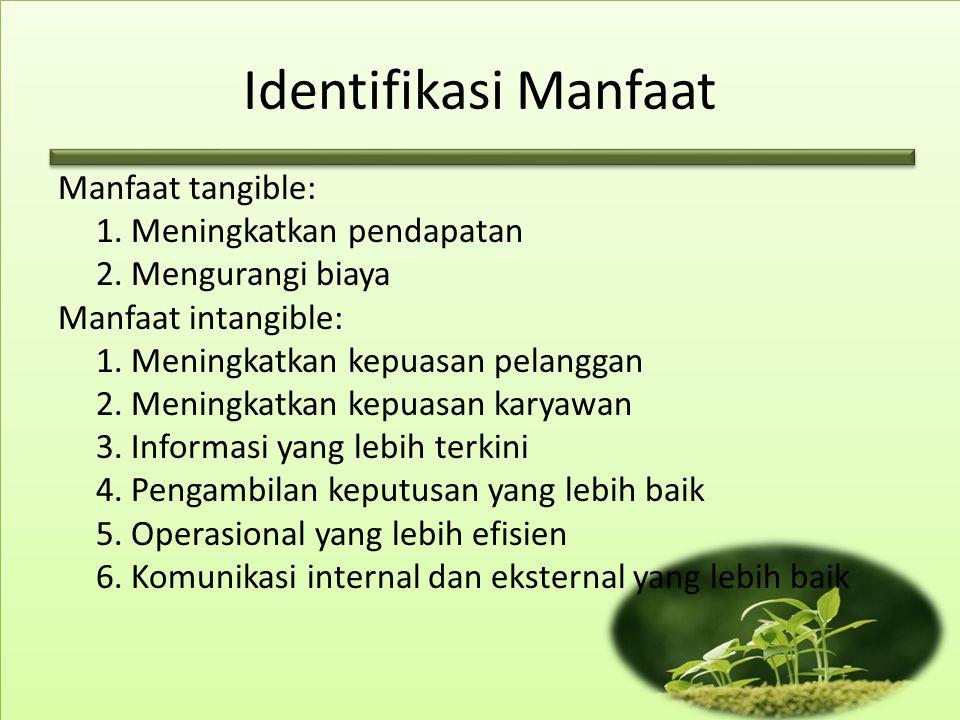 Identifikasi Manfaat