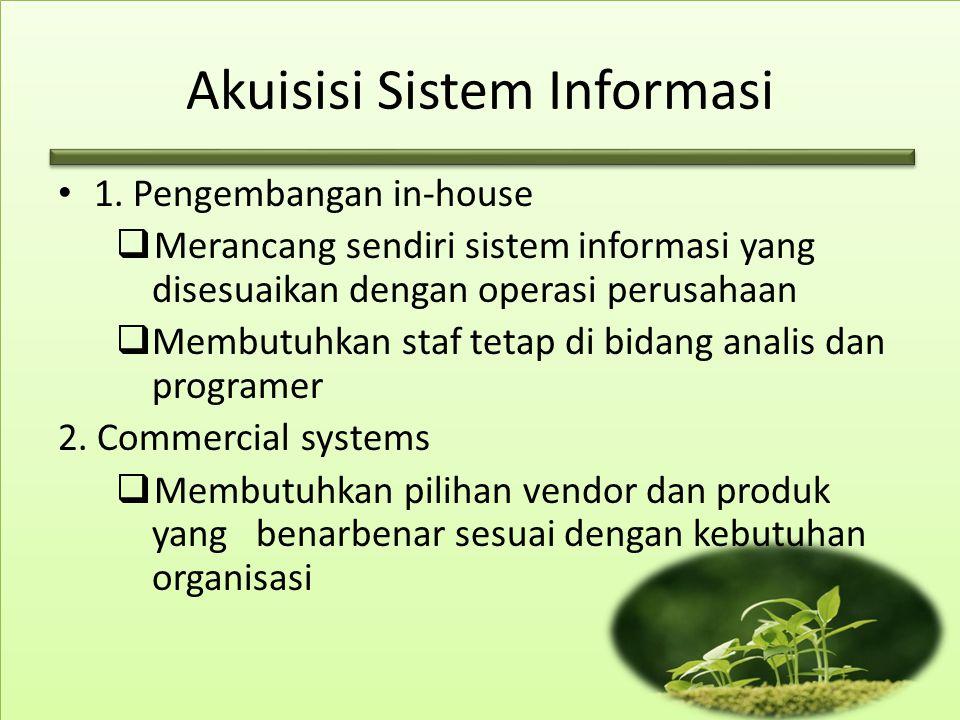 Akuisisi Sistem Informasi