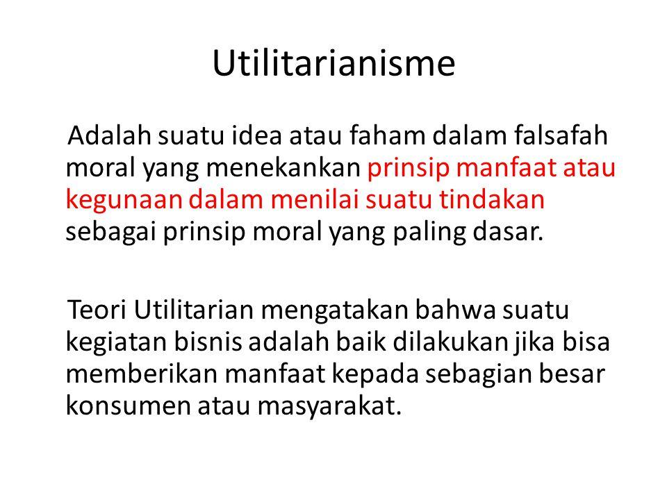 Utilitarianisme
