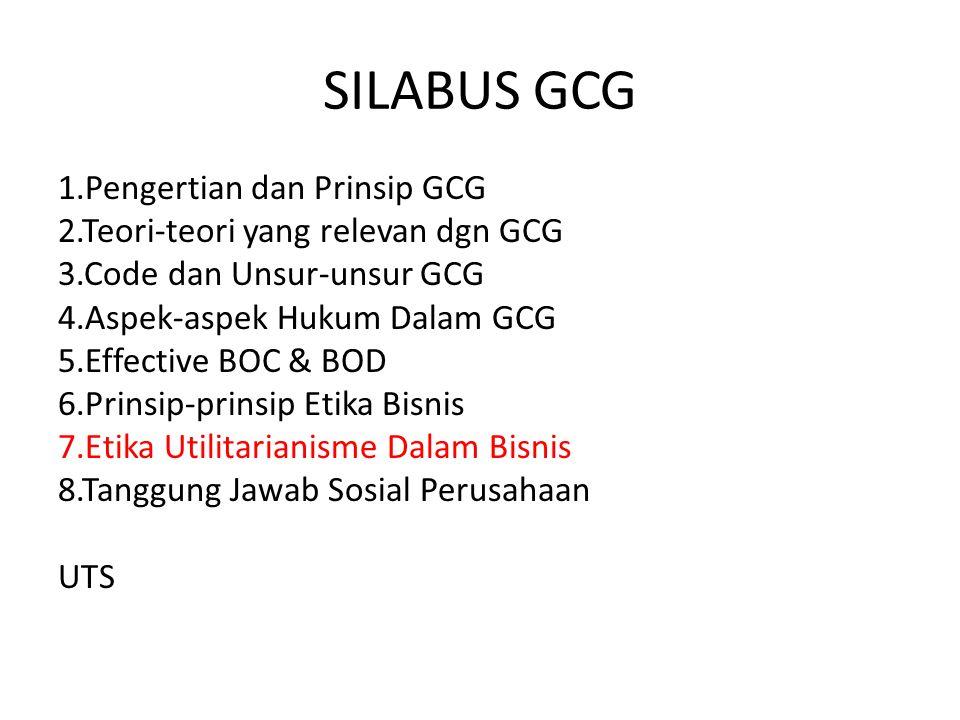SILABUS GCG