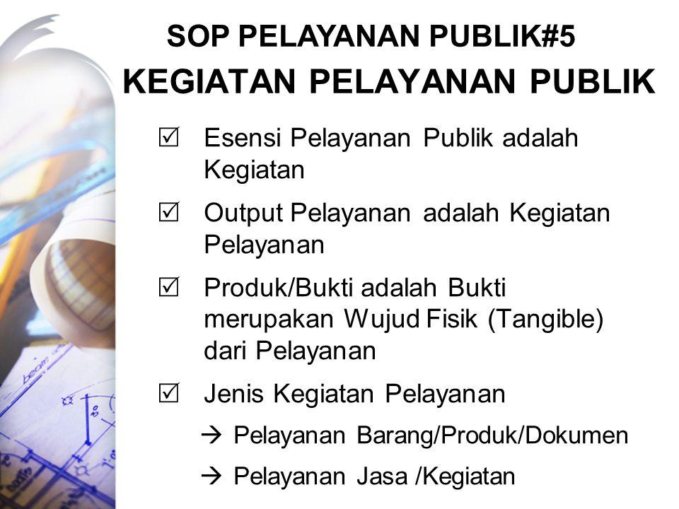 Kegiatan pelayanan publik