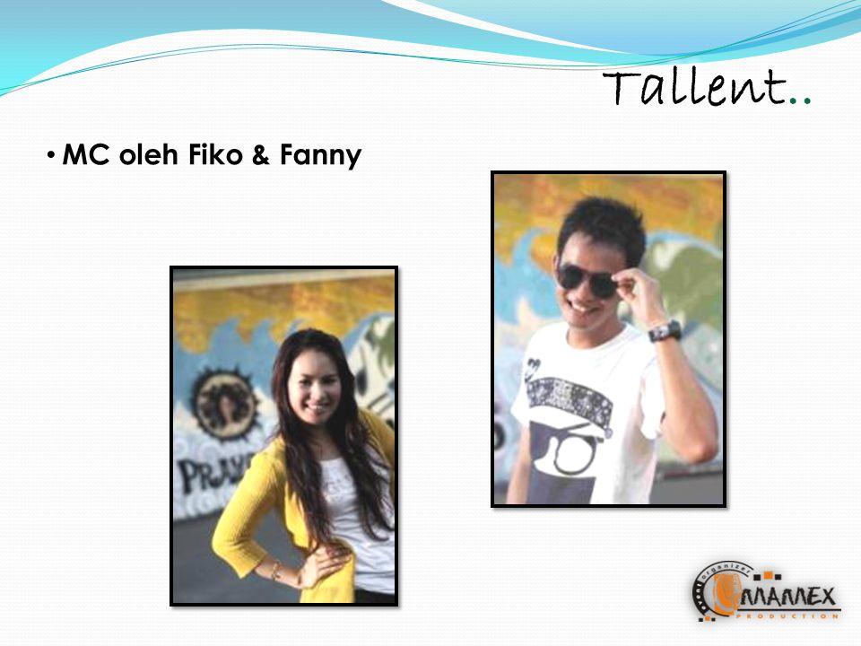 Tallent.. MC oleh Fiko & Fanny