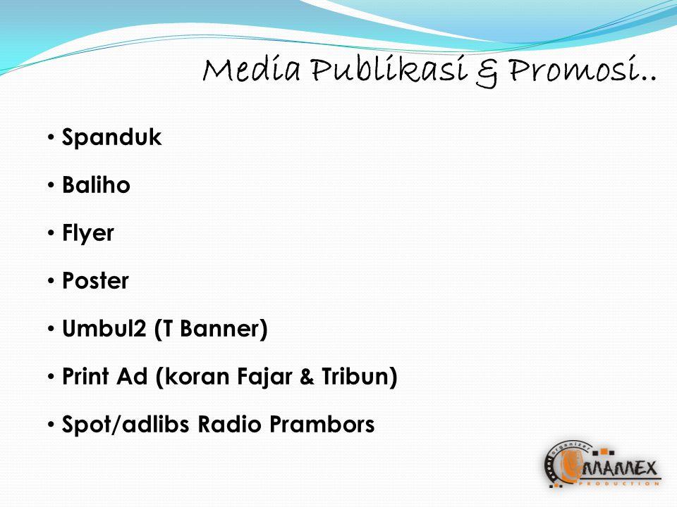 Media Publikasi & Promosi..