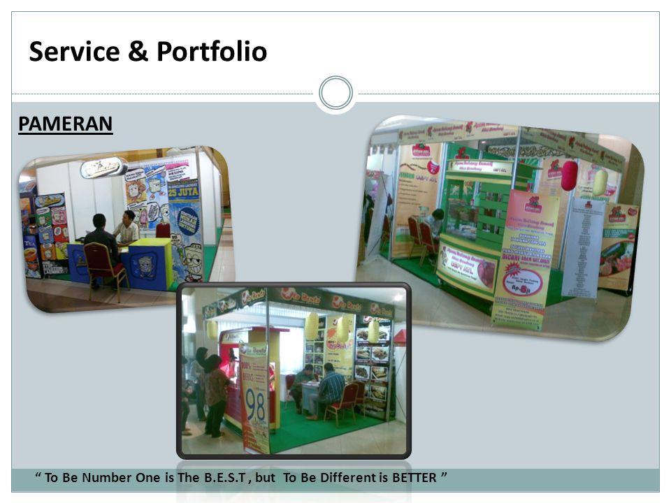 Service & Portfolio PAMERAN