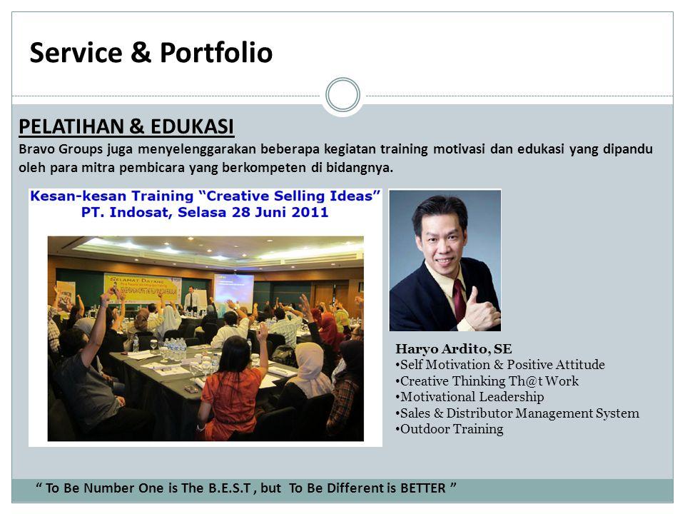 Service & Portfolio PELATIHAN & EDUKASI