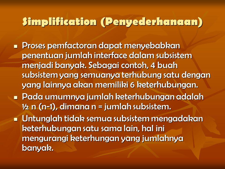 Simplification (Penyederhanaan)
