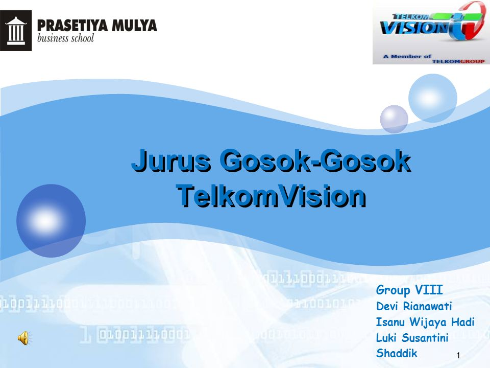 Jurus Gosok-Gosok TelkomVision