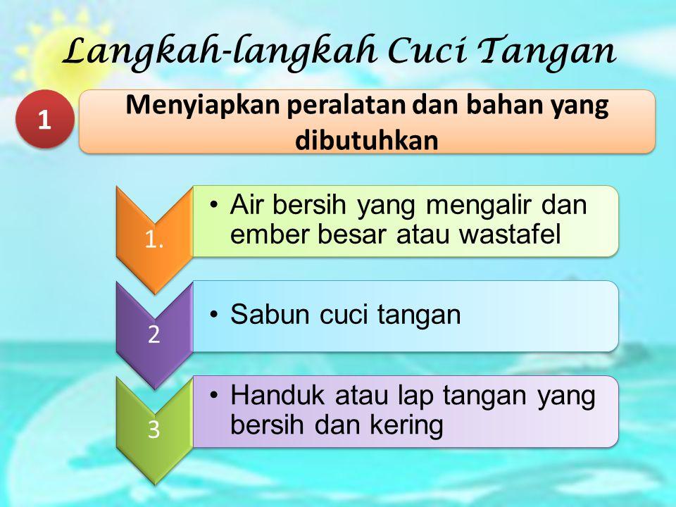 Langkah-langkah Cuci Tangan