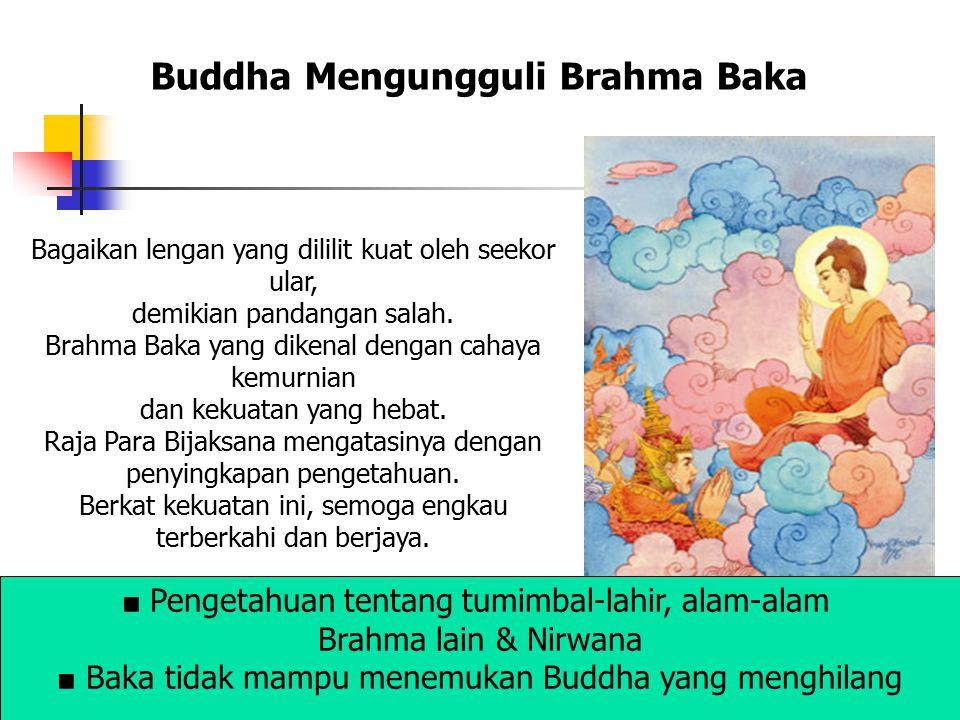 Buddha Mengungguli Brahma Baka
