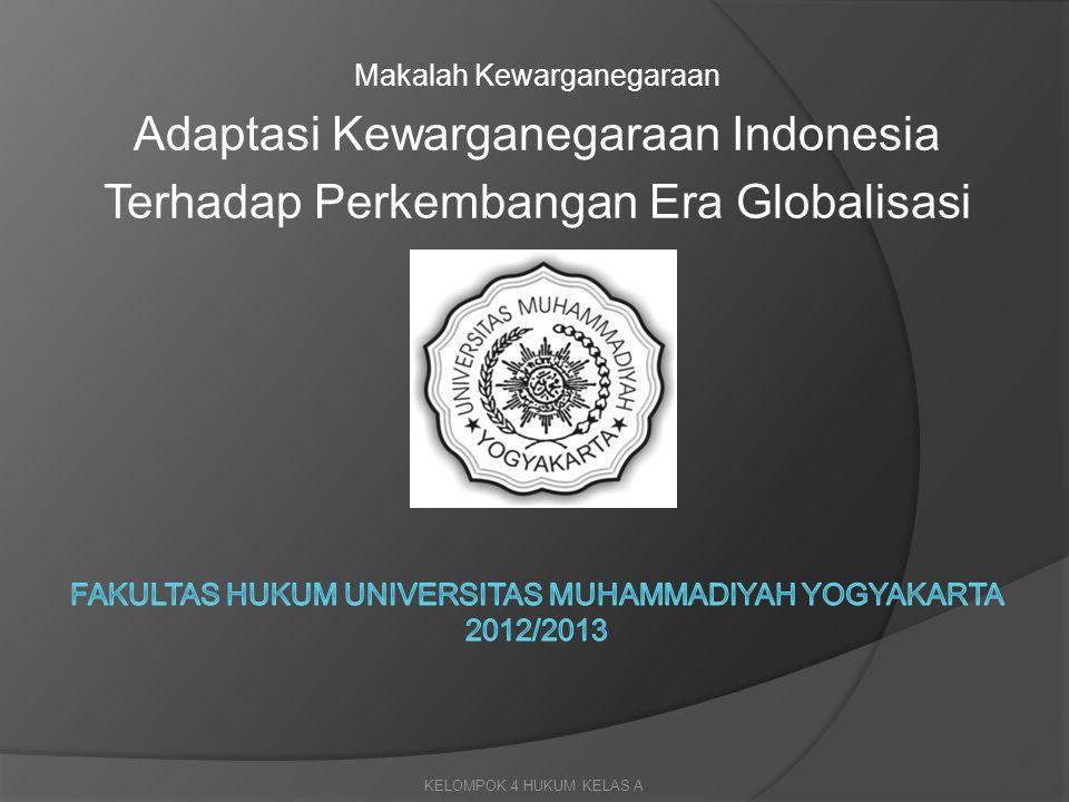 Fakultas hukum universitas muhammadiyah yogyakarta 2012/2013