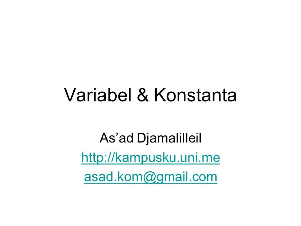 As'ad Djamalilleil http://kampusku.uni.me asad.kom@gmail.com