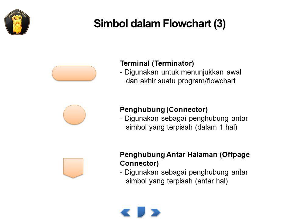 Simbol dalam Flowchart (3)