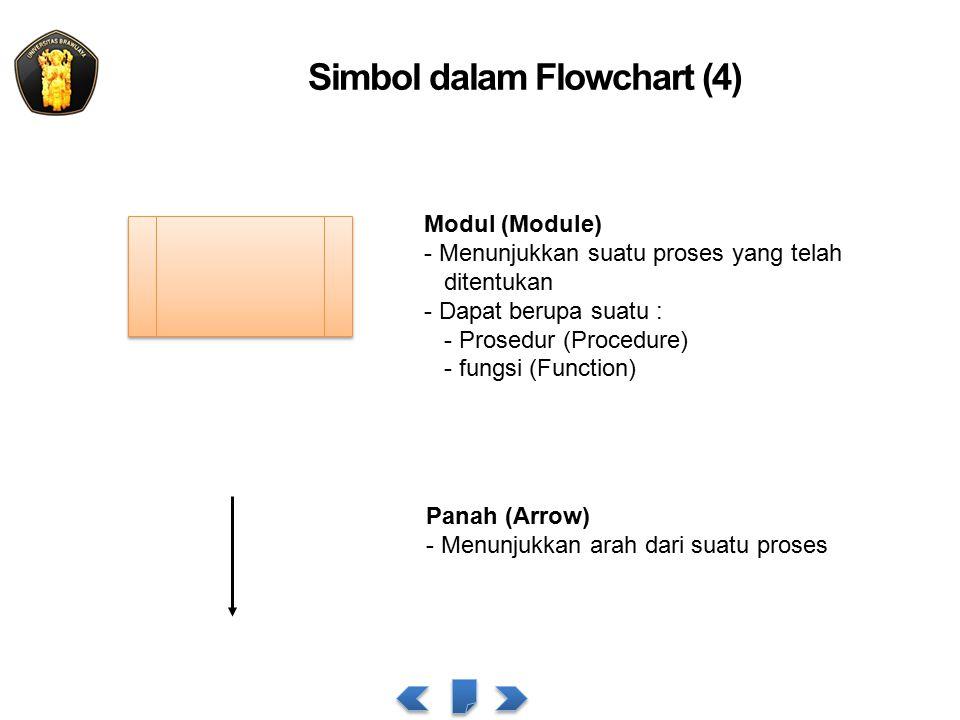 Simbol dalam Flowchart (4)