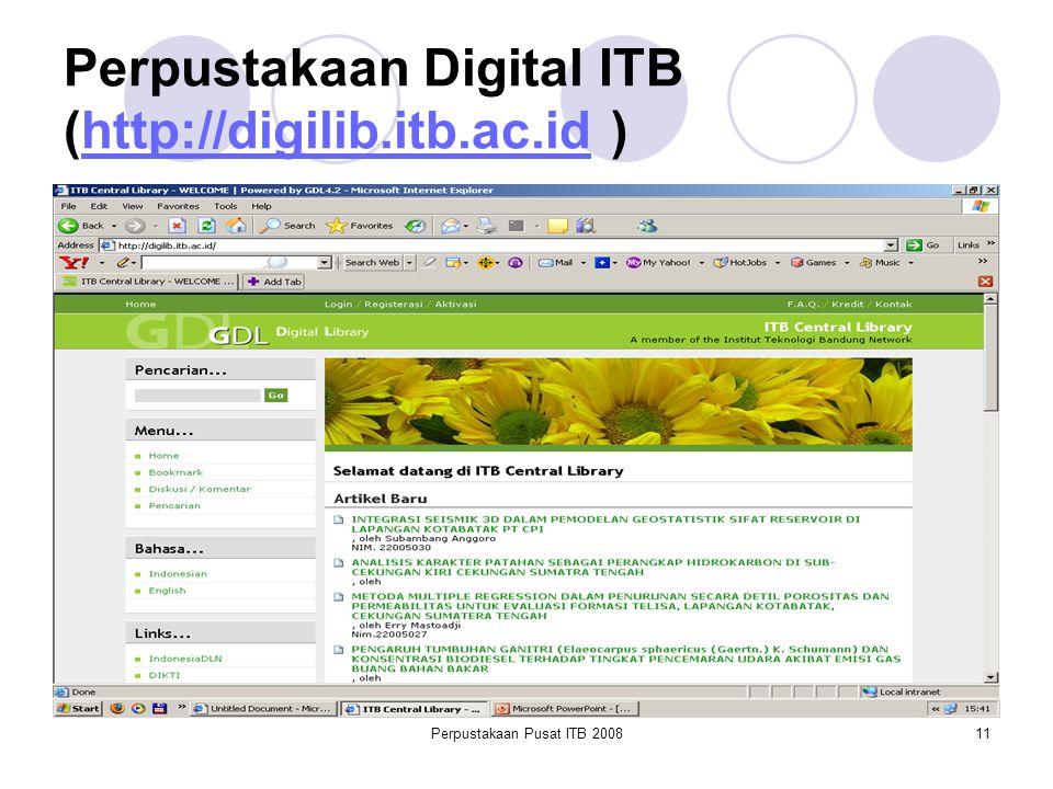 Perpustakaan Digital ITB (http://digilib.itb.ac.id )