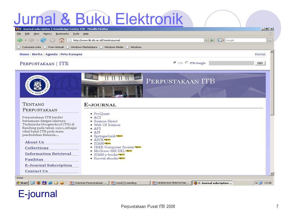 Jurnal & Buku Elektronik