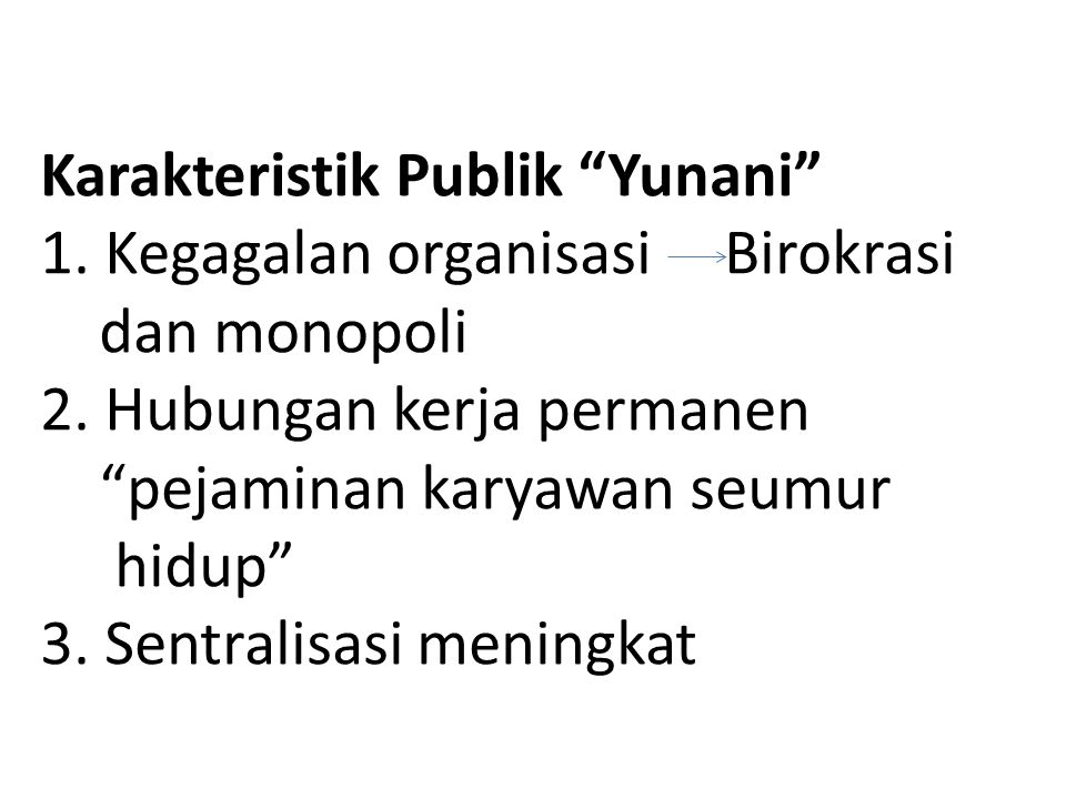 Karakteristik Publik Yunani 1