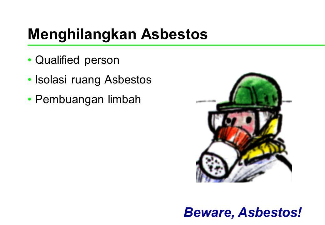 Menghilangkan Asbestos