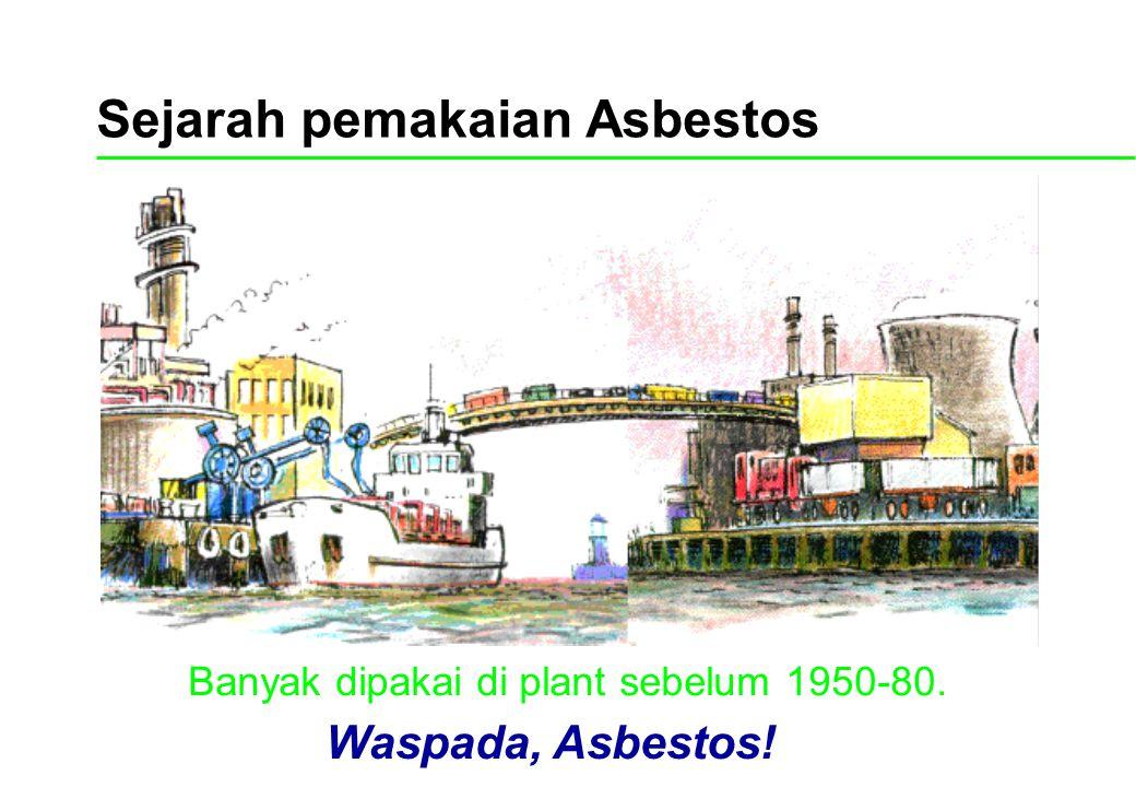 Sejarah pemakaian Asbestos